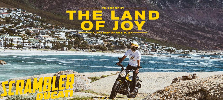 Kreativ, jugendlich und ungebunden, die neue Ducati Scrambler ist weit mehr als nur ein Motorrad, es ist ein neuer Brand, der Kreativität, Freiheit und positives Lebensgefühl zum Ausdruck bringt.