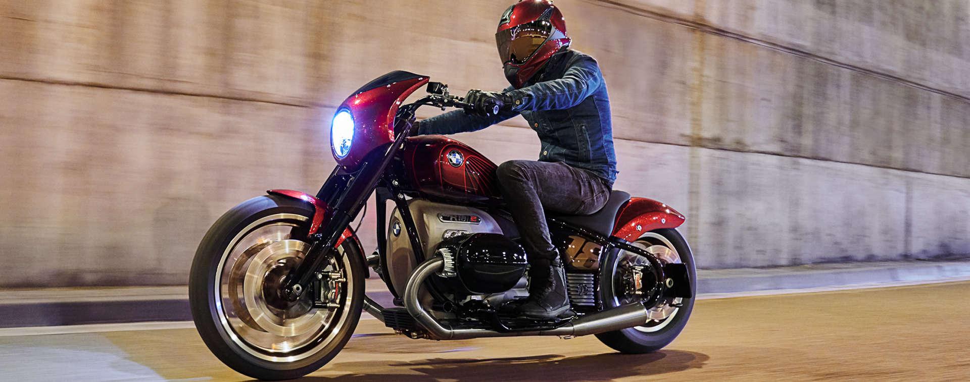 Zweites Cruiser-Konzept von BMW Motorrad vorgestellt.